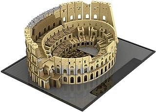 6544 PCS Building Block Classic Ancient Rome Colosseum, Puzzle Toy Technic Super Racing RC Car Kit, Model Building Blocks ...