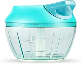 Portable Food Chopper Manual Spice Onion Chopper Food Processor for Vegetables, Fruits, Nuts, Herbs, Meat, Garlic Kitchen ...