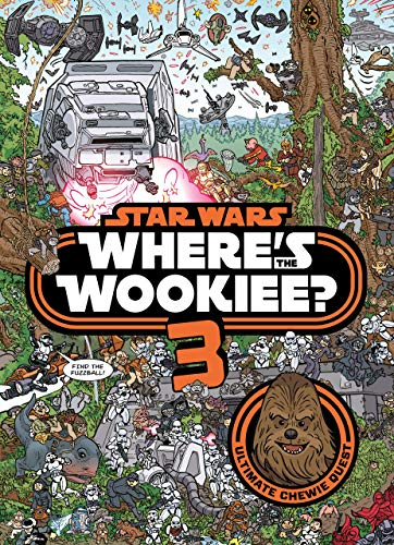 Star Wars: Where is the Wookiee 3 (Star Wars Activity Books)