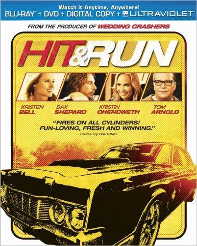 Hit Run Blu ray product image