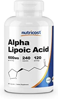 Best alpha lipoic acid pharmaceutical grade Reviews
