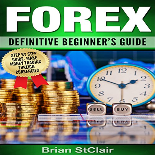 Forex: Definitive Beginner's Guide audiobook cover art