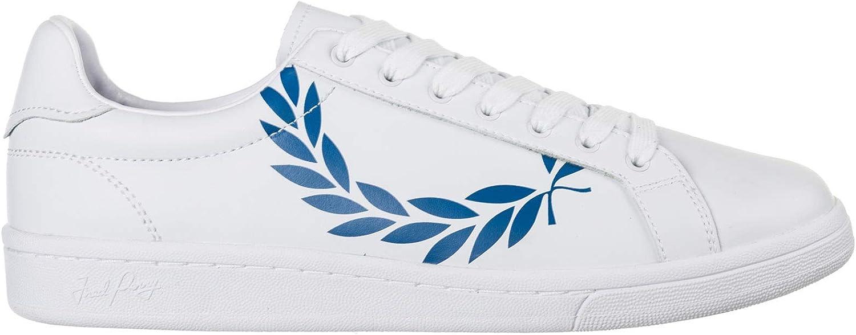 Fred Perry Men Laurel Sneakers White 9 UK