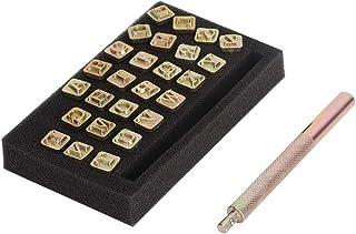 Weiyiroty 6mm Lettre en métal Timbres en métal estampage fournit des Timbres en métal, Timbre en métal, pour poinçon en métal