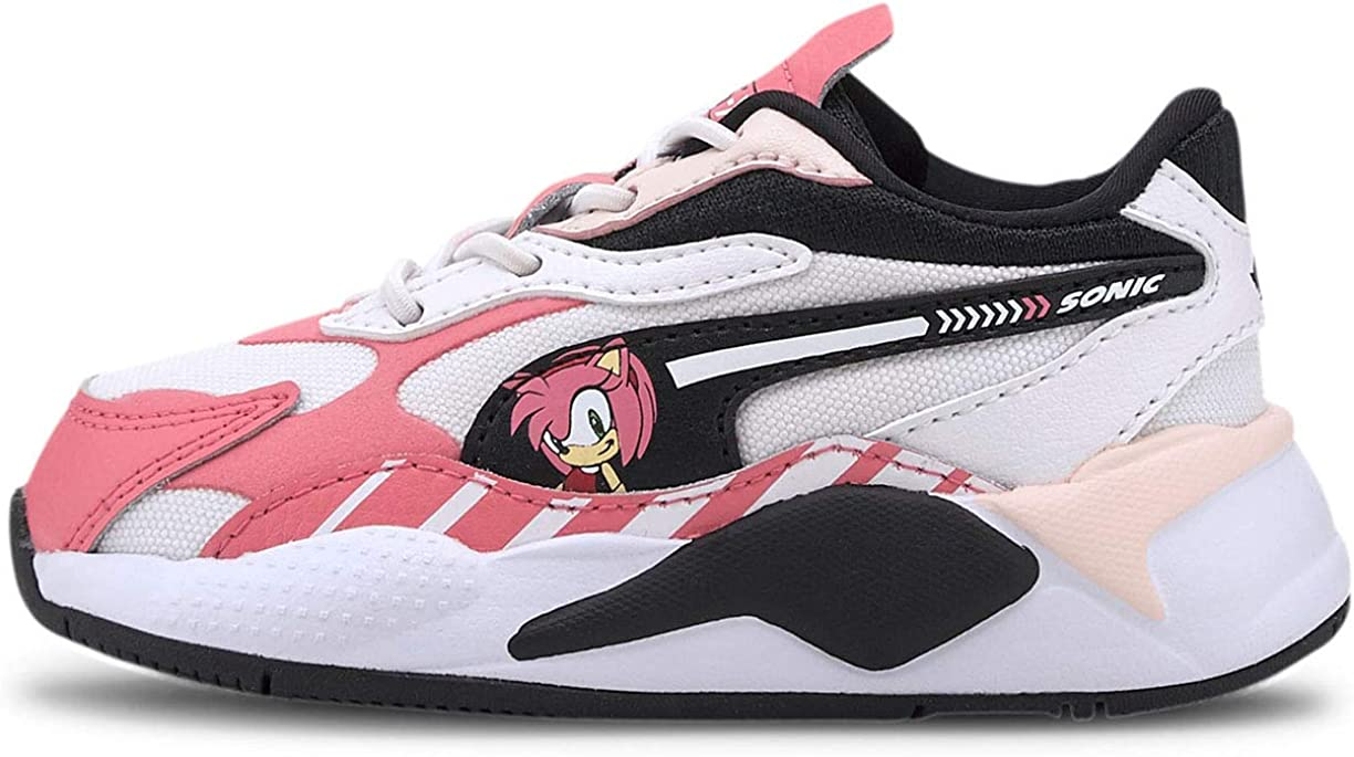 PUMA Toddler Girls Rs-X³ X Sega Sonic Sneakers Shoes Casual - Pink