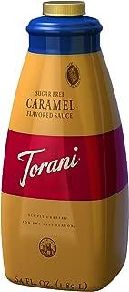 Torani Sugar Free Caramel Sauce, 64-Ounce
