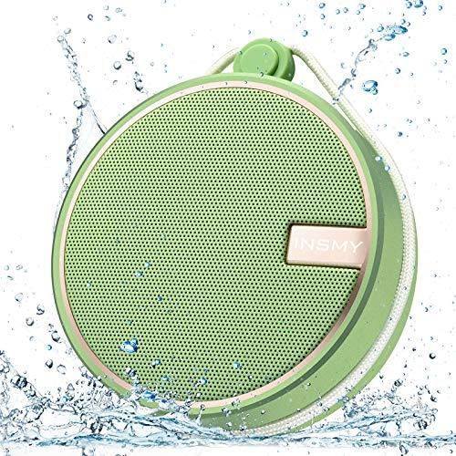 INSMY Portable IPX7 Waterproof Bluetooth Speaker, Wireless Outdoor Speaker Shower Speaker, with HD...