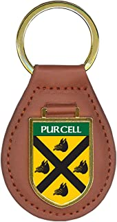 Purcell Family Crest Coat of Arms Key Chains
