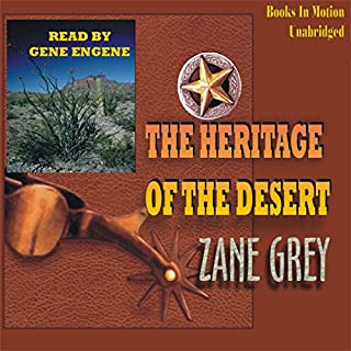 The Heritage of the Desert audiobook cover art
