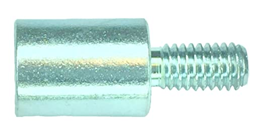 Aluminum 0.187 OD 0.562 Length, Pack of 10 2-56 Screw Size Female Clear Iridite Lyn-Tron