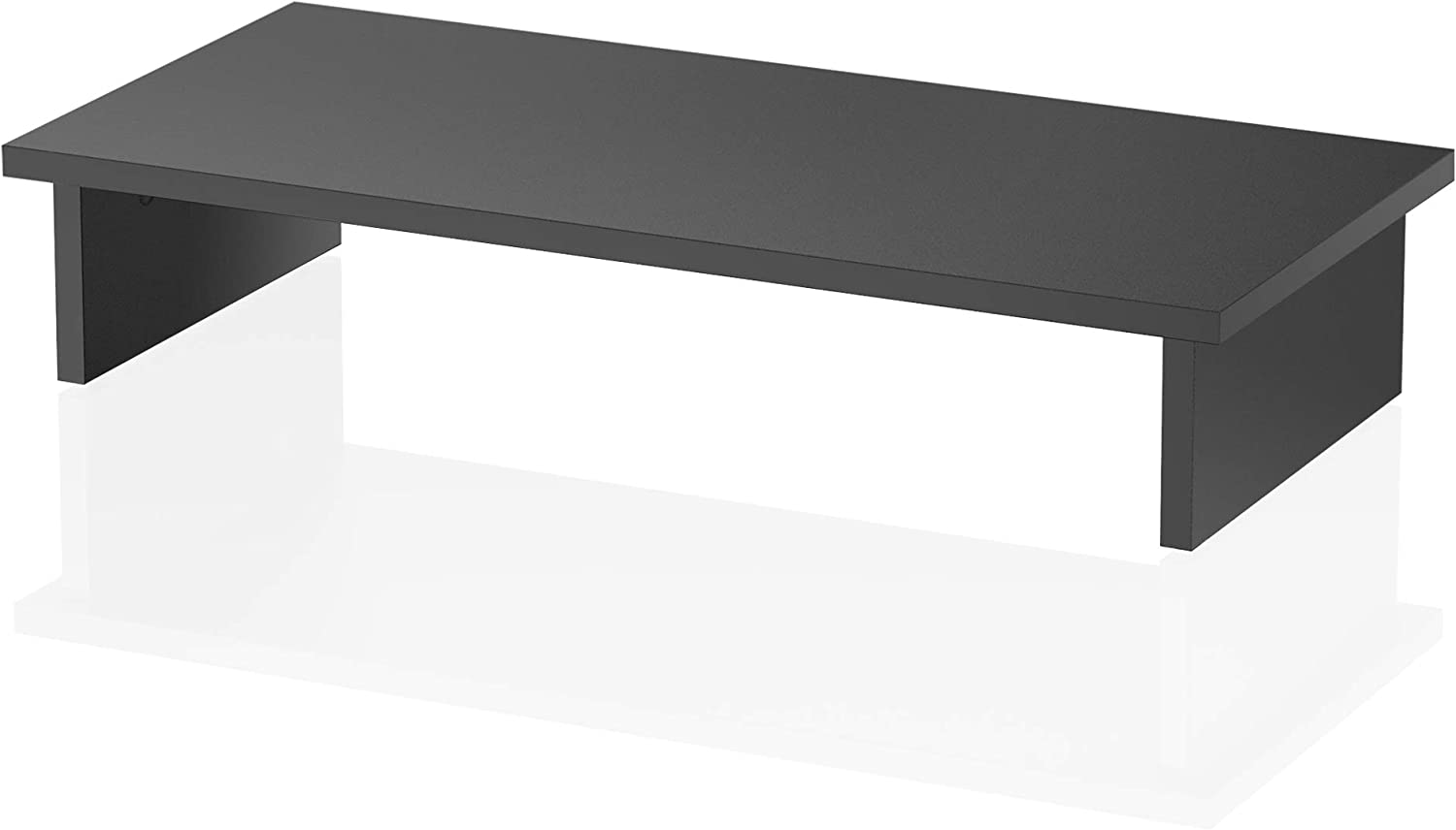 FITUEYES Computer Monitor Stand TV Shelf Riser Printer Machine Stand 4.7'' High Elevated Desktop TV Stand for Xbox One/Component/Flat Screen TV