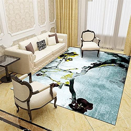 Kunsen Moderno Minimalista Abstracto geométrico Sala de Estar Dormitorio Noche de Cama...