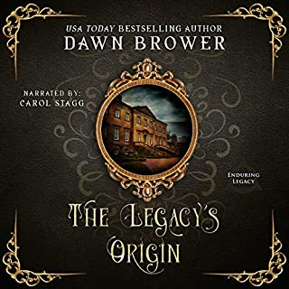 The Legacy's Origin audiobook cover art