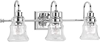 Progress Lighting P300139-015 Litchfield 3-Lt. Bath, Chrome