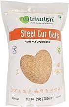 Nutriwish Steel Cut Oats Pouch, 2000 g