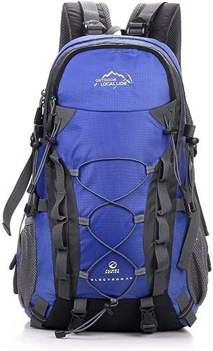 Sac d'alpinisme 40L Haute Capacité Randonnée Alpinisme Sac à Dos Voyage Sac à Dos étanche Camping Daypack College School sac à dos Camping, randonnée, randonnée, Escalade, Escalade
