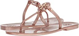 e700bb068d0b81 Tory burch mini miller jelly thong w crystals blush