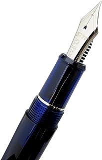 PLATINUM プラチナ万年筆 #3776 センチュリー ロジウムフィニッシュ #51-1 シャルトルブルー ペン先サイズ:EF(極細字)