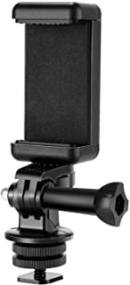 Neewer Phone Holder / Hot Shoe Mount Adapter Kit Compatible with Action Camera GoPro Hero 9 8 7 6 5, DJI OSMO Action, iPho...