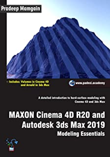 MAXON Cinema 4D R20 and Autodesk 3ds Max 2019: Modeling Essentials