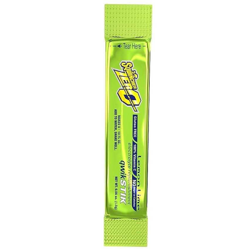 Sqwincher 060205-LL Sugar-Free Quick Stick, Lemon-Lime, 0.06 oz.