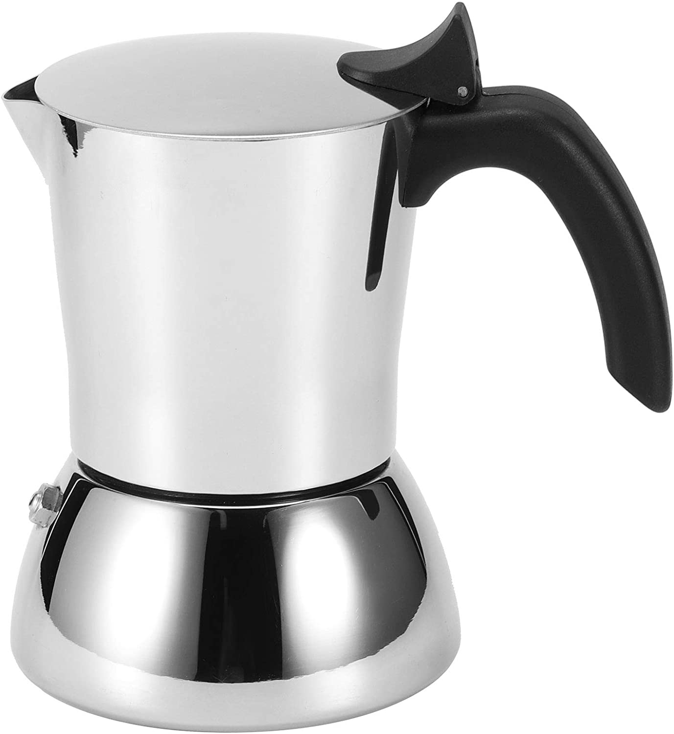 304 Stainless Max 78% OFF Steel Coffee Pot Maker 4 Kettle Cup Inventory cleanup selling sale