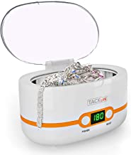 Ultrasonic Cleaner, Compact Professional Ultrasonic Jewelry Cleaner 20 Ounces(600ML) with..