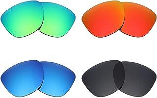dc98301f52 Mryok - Lentes polarizadas de repuesto para gafas de sol Oakley Frogskins  (4 pares,