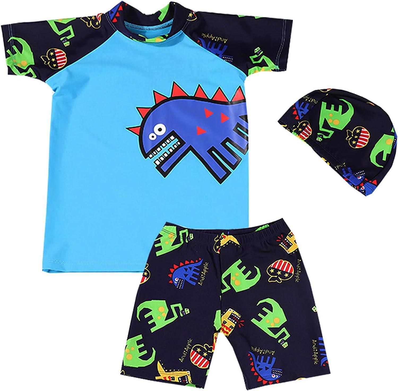 Boys Two Indefinitely Pieces Swimsuits Bargain sale Swimwear Suits Print Dinosaur Bathing