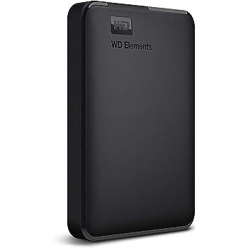 WD ポータブルHDD 2TB USB3.0 ブラック WD Elements Portable 外付けハードディスク / 2年保証 WDBU6Y0020BBK-WESN