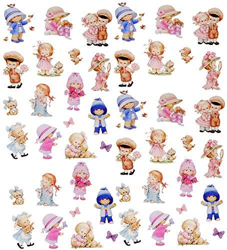 480 TLG. Set _ Aufkleber / Sticker -  Morehead - kleine Kinder / Baby  - selbstklebend - für Jungen & Mädchen / Erwachsene - Stickerset Kinder - z.B. für St..
