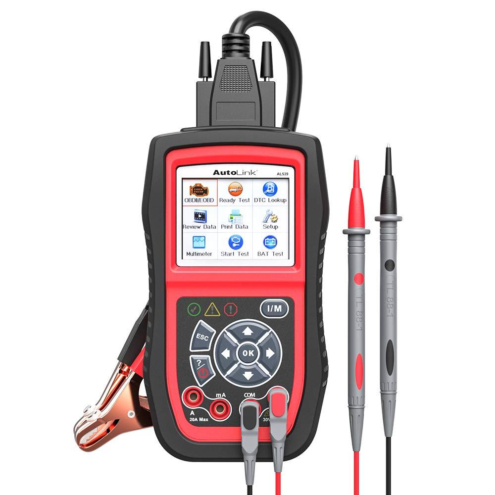 Autel AL539B Scanner Starting Charging