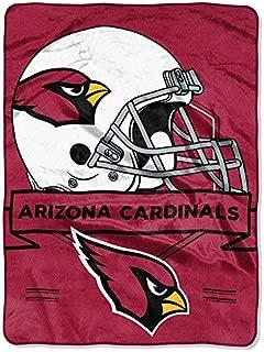 Northwest 0807 Arizona Cardinals NFL Royal Plush Raschel (Prestige Series)