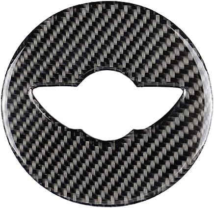 planuuik 3D Metal S Etiqueta de Emblema de la Parrilla Delantera para Mini Cooper R50 R52 R53 R56 R57