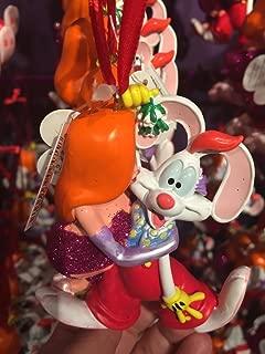 Disney World WDW Park 2015 Jessica Kissing Roger Rabbit Christmas Ornament