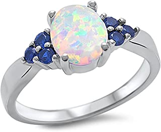 Best opal and sapphire ring Reviews