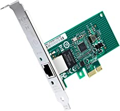 ipolex Gigabit Ethernet Serve Network Adapter(NIC)- Intel I210 Chip RJ45 Copper Single-Port - PCI-E X1