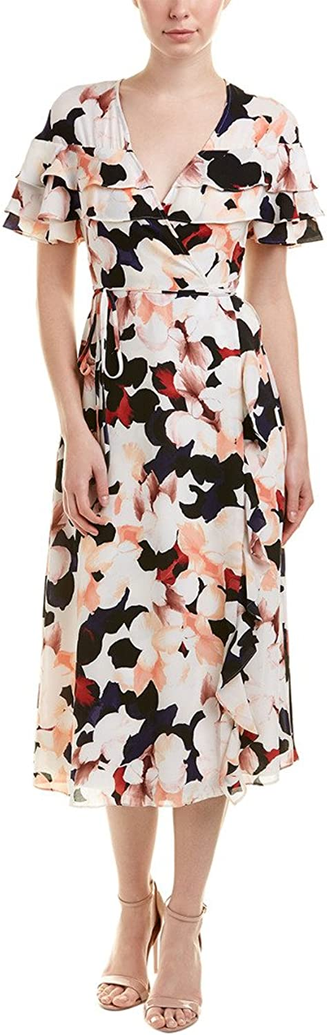1.State Womens Floral Wrap Dress