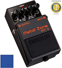 Boss MT-2 Metal Zone Effects Pedal with 1 Year Free Extended Warranty