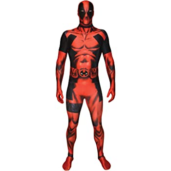 Morphsuits Traje Oficial de Disfraz de Deadpool tamaño Grande - 5 ...