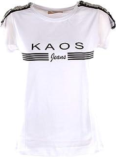 Donna E Sportive Kaos Amazon Bianca itT Shirt Camicie 1lFKJTc