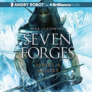 Seven Forges audiobook cover art