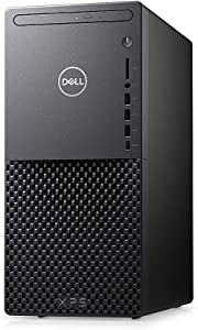 Dell XPS 8940 Tower Desktop PC, 10th Gen Octa-core Intel i7-10700 2.9GHz Processor, 16GB DDR4 Memory, 512GB PCIe M.2 SSD +1TB SATA 7200 RPM HDD, DVD-RW Drive, Windows 10 w/Tigology Accessories