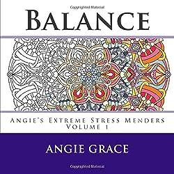balance by angie grace - Mandala Coloring Book
