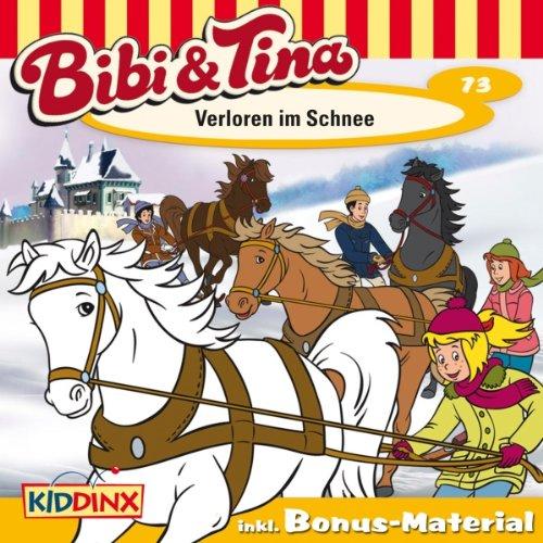 Verloren im Schnee (Bibi und Tina 73) Titelbild