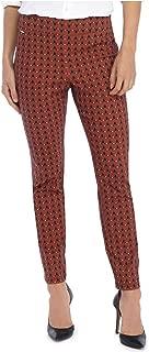 Women's Geometric Printed Exact Stretch Skinny Pants, Multi