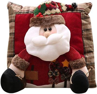 Amazon.com: Himpokejg Papá Noel Claus Snowman Bear Xmas ...