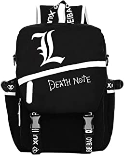 YOYOSHome Death Note Anime Light Yagami Cosplay Rucksack Backpack School Bag