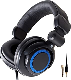 $82 Get LIXIAG Monitor Headphones, Head-Mounted Stereo, Earphones for Piano and Piano Keyboard, Send 3.5 to 6.5 Plugs, No Microphone (Color : Black)