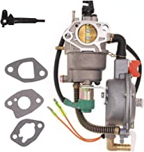 Triumilynn Dual Fuel Carburetor Generator LPG/NG Conversion Kit Fits for Honda 4.5-5.5KW GX390 188F Engine
